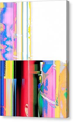 Seeking Encounter Number Four  Digital Art By Maria Lankina Canvas Print by Maria  Lankina