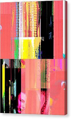 Seeking Encounter Number Ten Digital Art By Maria Lankina Canvas Print by Maria  Lankina