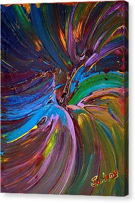 Seeking Heaven Canvas Print by Jim  Furlong