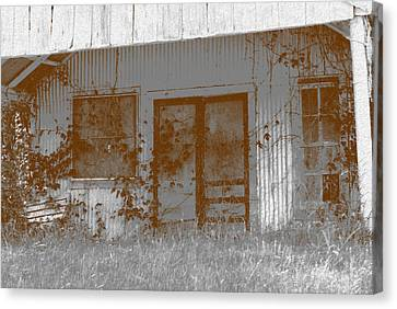 Seen Better Days Canvas Print by Connie Fox