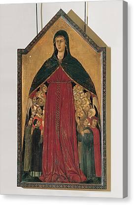 Segna Di Bonaventura, Our Lady Canvas Print by Everett