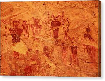 Sego Canyon Rock Art Canvas Print