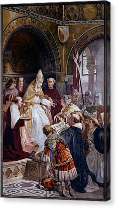 Seitz Ludovico, Pope Benedict Xi Canvas Print by Everett