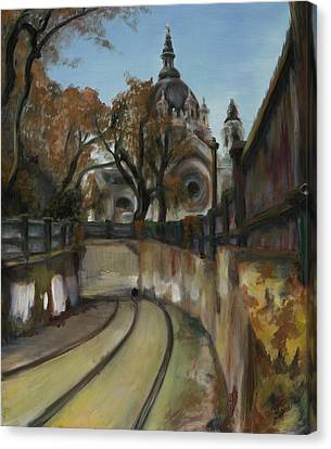 Selby Tunnel Canvas Print by Grace Hasbargen