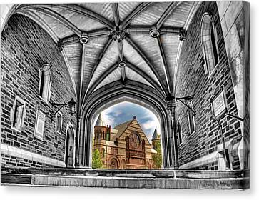 selective colors Princeton University Canvas Print by Geraldine Scull