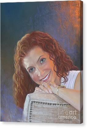Self Acceptance Canvas Print by Nanybel Salazar