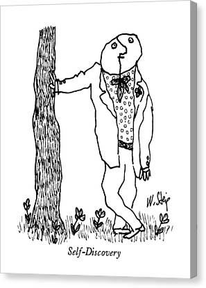 Self-discovery Canvas Print by William Steig