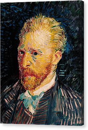 Self Portrait, 1887  Canvas Print by Vincent van Gogh