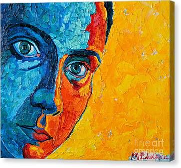 Self Portrait Canvas Print by Ana Maria Edulescu