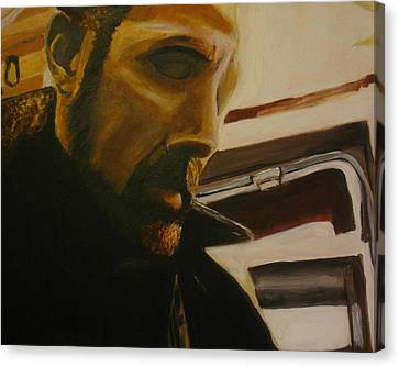 Self Portrait Canvas Print by Frank Troy