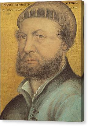 Self Portrait Canvas Print by Hans Holbein