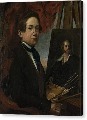 Self-portrait, Johannes Daniël Susan Canvas Print