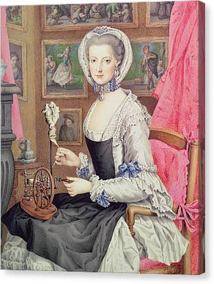 Self Portrait Canvas Print by Maria Christine