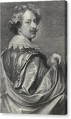 Self-portrait Canvas Print - Self Portrait by Sir Anthony van Dyck