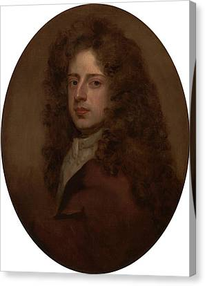 Self-portrait, Sir Godfrey Kneller, 1646-1723 Canvas Print by Litz Collection