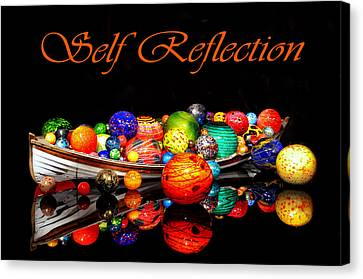 Self Reflection Canvas Print by Kelly Reber
