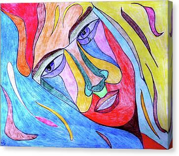 Selfless Canvas Print by Donna Blackhall