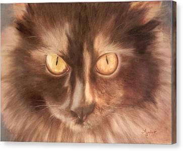 Oilon Canvas Print - Selini The Siberian by Ageliki