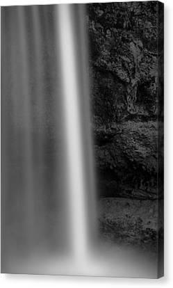 Abstract Water Fall Canvas Print - Seljalandsfoss 2 by Dave Bowman