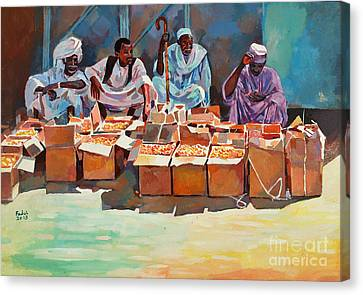 Canvas Print - Sellers by Mohamed Fadul