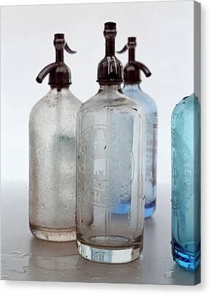 Seltzer Bottles Canvas Print