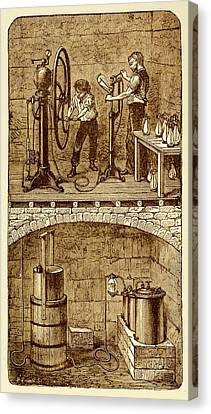 Selzer Water Manufactuary Canvas Print