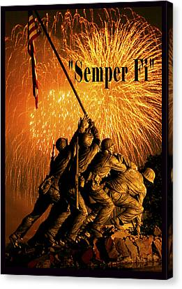 Semper Fi Canvas Print by Government Photographer