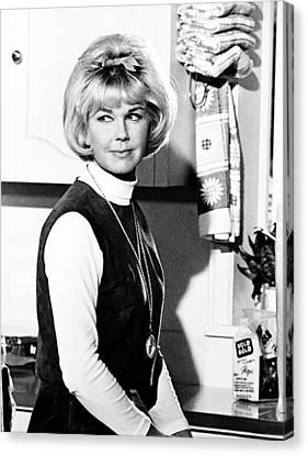 1960s Hairstyles Canvas Print - Send Me No Flowers, Doris Day, 1964 by Everett