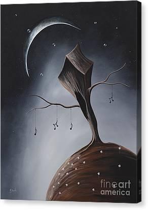 Send Me Your Love While I Sleep By Shawna Erback Canvas Print by Shawna Erback