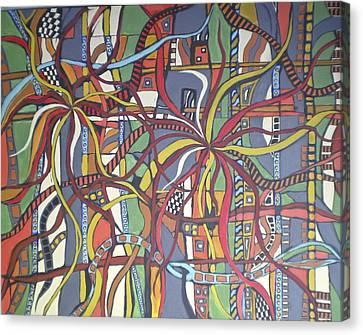 Senderos #3 Canvas Print