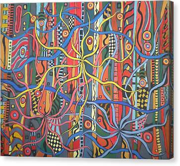 Senderos #6 Canvas Print
