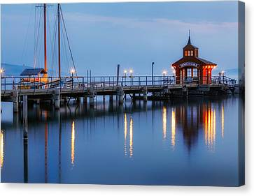Seneca Lake Canvas Print by Bill Wakeley