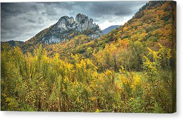 Seneca Rocks Canvas Print