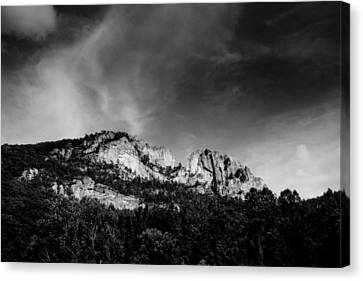 Seneca Rocks Canvas Print by Shane Holsclaw