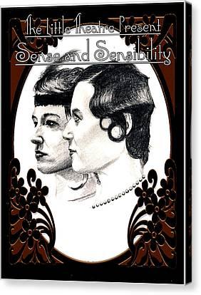 Sense And Sensibility Canvas Print