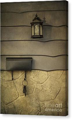 Mailboxes Canvas Print - Sense Of Home by Evelina Kremsdorf