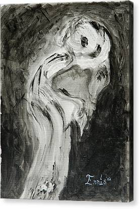 Sentimental Creeper Canvas Print