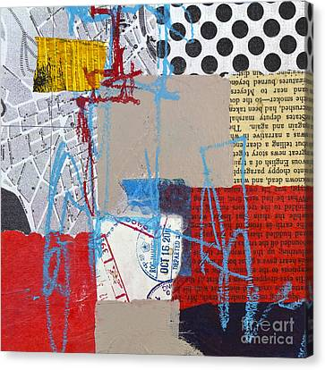 Journey Canvas Print - Sentimental Journey by Elena Nosyreva