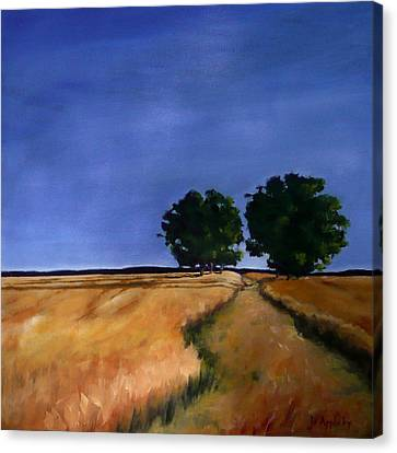 Sentinels Canvas Print by Jo Appleby