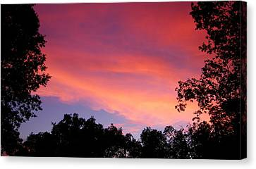 September Color Canvas Print by Tom Mansfield