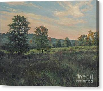 September Meadow Canvas Print by Gregory Arnett