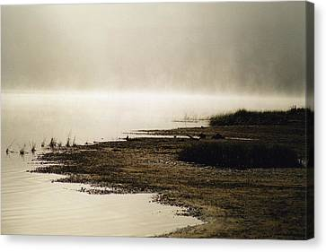 Canvas Print featuring the photograph September Morning by David Porteus
