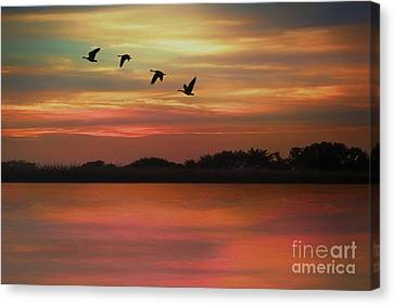 September Sky Canvas Print by Tom York Images