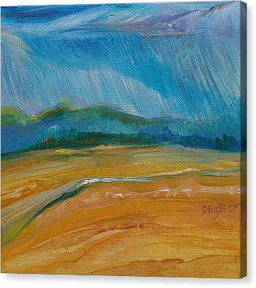 September Storm Canvas Print by Dawn Vagts