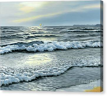 September Winds Canvas Print by Michael Swanson