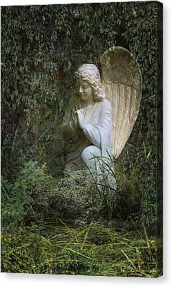 Seraphim Angel Garden Canvas Print