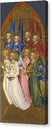 Seraphim Cherubim And Adoring Angels Canvas Print