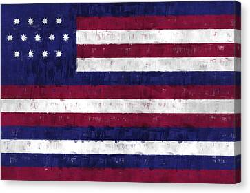 Serapis Flag Canvas Print by World Art Prints And Designs