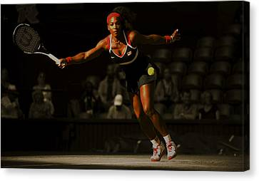 Serena Williams Grace Canvas Print