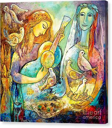 Serenade Canvas Print by Shijun Munns
